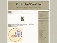 killallthewhiteman.com