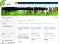 Xnt.nl - Domeinnamen, webhosting, VPS, dedicated servers en colocatie | xYnta