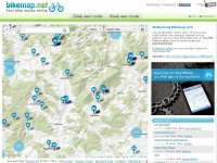 Bikemap.net - Find bicycle tracks and map rides, Cycle route planner, GPS | Bikemap - Your bike routes