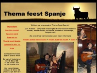 Thema feest Spanje
