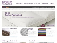 Feather Beds, Hotel beds, Hotel Duvets, Pillows - Hotel at Home - DOUX