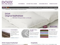 Featherbed - Matratzenauflagen, Hotelbett, Daunendecke, Kissen - Hotel at Home - DOUX