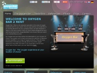Oxygenbar2rent.com - OXYGEN BAR 2 RENT: The oxygen experience at your location!