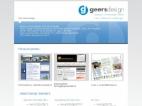 Geersdesign voor een effectief webdesign