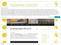 De Springerdagen 7 oktober 2012 | De leukste tuindagen van Midden-Nederland! Kom genieten in de Springertuin Zuilen!
