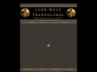 "Lonewolftransglobal.co.uk - Lone wolf Transglobal – ""Life is a journey, not a destination."""