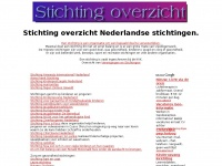 stichting overzicht van Nederlandse stichtingen - wat is een stichting ?