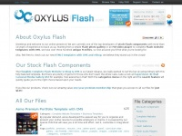 Oxylusflash.com - Oxylus Flash - Stock Components, Scripts, Templates and Widgets