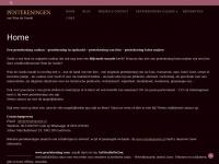 Een pentekening cadeau | Beeld-/auteursrecht bij W.de Goede (tenzij overeengekomen)