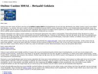 Online Casino IDEAL | Casino's waar je Betaald kunt Gokken en Storten met IDEAL