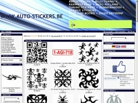 AUTO-STICKERS.BE - Goedkope autostickers , belettering , autoreclame , tuning , stickers , baby aan boord stickers