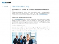 Webtains.name - Webtains GmbH - FAQ