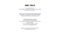 Waitalk.com - WaiTalk - Index page
