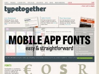 Type-together.com - Type Together : High quality fonts and custom type design