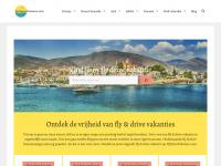 Fly Drive Vakantie - Vliegvakanties met Huurauto