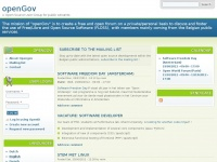 Opengov.be - Welcome to nginx!