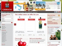 Giordanowines.co.uk - Buy Italian wine online – wine hampers | Giordano Wines
