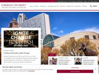 Fordham.edu - Fordham Homepage