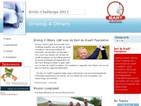 Driving-4-Others | rijdt de Arctic Challenge 2011 voor de Bart Foundation