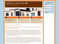 hotelsindehaan.be
