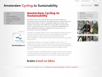 Amsterdam Cycling to Sustainability