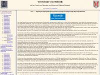 Genealogie van Rijswijk