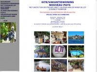 vakantiewoning Frankrijk, gite, wandelen, fietsen, barbeel meerval karpervissen met eigen steiger aan de Lot in frankrijk