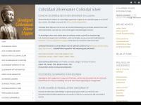 Colloidaal Zilverwater Colloidal Silver