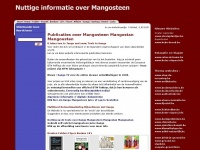 Publicaties over Mangosteen Mangostan Mangoustan