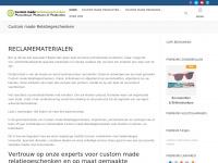 Originele relatiegeschenken laat je maken | Custommade-Relatiegeschenken.nl