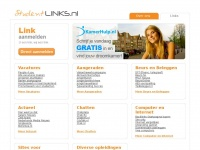 StudentLinks.nl: De studenten startpagina, met allerlei handige links. Bijbanen, vakantiewerk en nog veel meer!