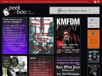PEEK-A-BOO • Online alternative & underground music magazine