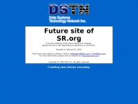 Future website of SR.org