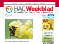 Hacweekblad.eu - HAC Weekblad – HAC Weekblad, méér dan een krant!