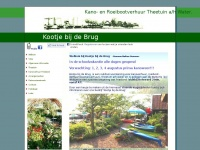 Kanoverhuur Friesland | Kootje bij de Brug | Theetuin Reidmarroute | Kano