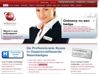 Name Badges International - Personeel Naambadges / Magneet Badges