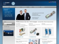 Ces.eu - Schlüssel, Schließanlage, Zutrittskontrolle | CES Gruppe