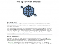 Ogp.me - The Open Graph protocol