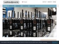 Walkies4Events - Verhuur en verkoop van walkie talkies