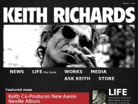 Keithrichards.com - This is the official community of Keith Richards, your source for the latest news and updates on Keith Richards.