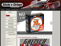 Sticks-n-strings.com - Muziekwinkel Venlo - Fender Premium Dealer Sticks 'n Strings Venlo
