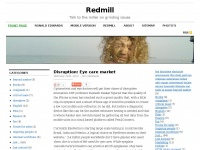 Redmill.eu - Redmill | Talk to the miller on grinding issues