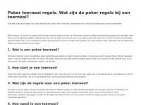 pokertoernooiregels.nl