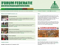 forumfederatie.be