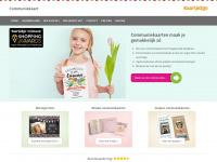 Communiekaart.nl | De mooiste communiekaartjes