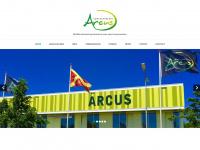 Sportcentrum Arcus Wijchen – Multifunctioneel sportcentrum voor sport evenementen. 10 volleybal-, 5 basketbal-, 2 handbal-, 2 korfbal- en 2 voetbalvelden.