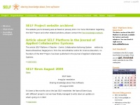 Selfproject.eu - SELF | Sharing Knowledge about Free Software