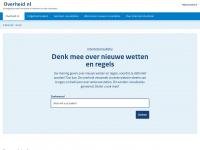 Overheid.nl | Consultatie, open consultaties