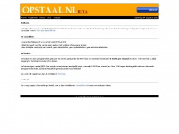 opstaal.nl