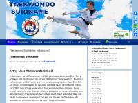 Arthy Lie's Taekwondo Suriname - Vorm van ongewapende vechtkunst